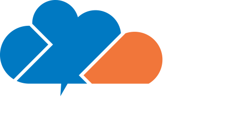 logo cloud world group en blanco